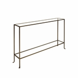 Skinny Medium Console Table | Bronze