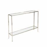 Skinny Medium Console Table | Nickel