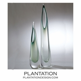 Stalactite Glass Vases | Evergreen