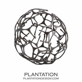 Tillman Iron Sphere Sculpture | Small
