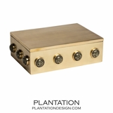 Titan Gemstone Large Box | Pyrite