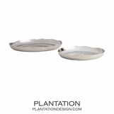 Titus Trays Set | Nickel