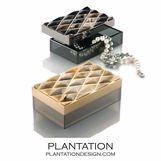 Trapunto Luxury Horn Boxes
