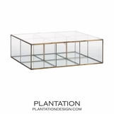 Raja Glass Storage Box | Large