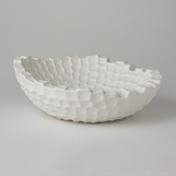 Turing Grid Bowl | White