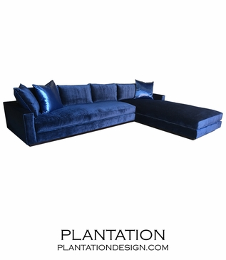 Tuxedo Sectional w/Chaise