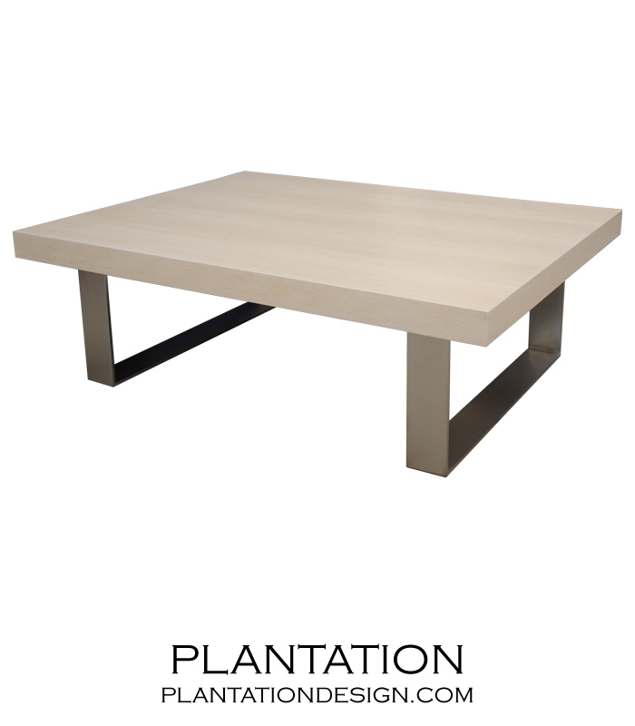 Urban Coffee Table W Metal Legs Plantation
