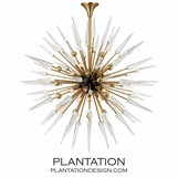 Vanguard Chandelier | Brass