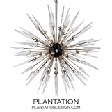 Vanguard Chandelier | Nickel