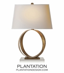 Webster Table Lamp | Golden Iron