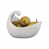 Whooper White Marble Bowl