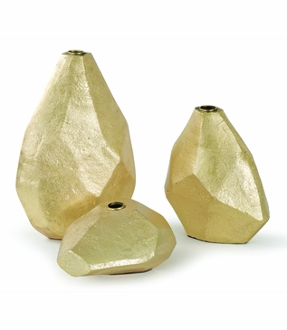 Windkanter Gold Vases Set