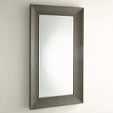 Winston Leather Floor Mirror | Grey