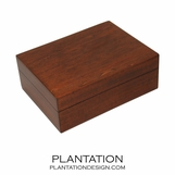 Woodgrain Storage Box | Brown