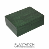 Woodgrain Storage Box | Green