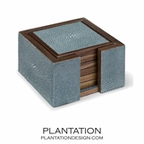 "Zigrino ""Shagreen"" Coaster Set 