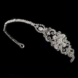 """Perfect Moment"" Side Accented Rhinestone Headband"