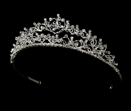 """Princess Diana"" Swarovski Crystal and Rhinestone Tiara"