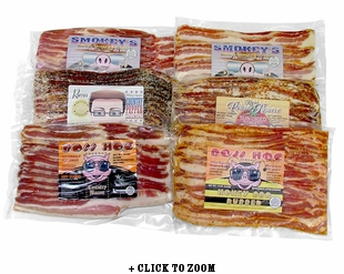 6 Pack Bacon Combo