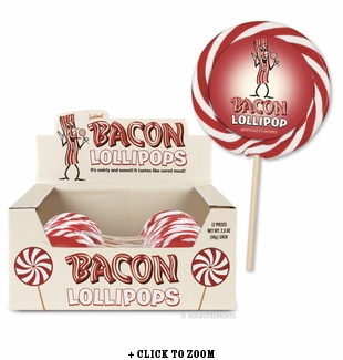 Bacon Flavored Lollipop