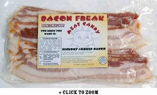 Bacon Freak Hickory Smoked Bacon - 2pk
