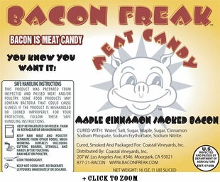 Bacon Freak Maple Cinnamon Bacon