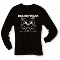 Bacon Freak (Original Pig) Long Sleeve Shirt