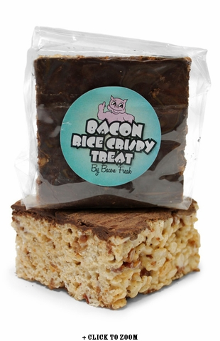 Bacon Freak's Rice Crispy Treat Flavored with Bacon