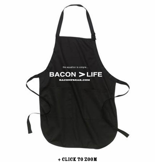 Bacon is Greater than Life - Apron