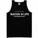 Bacon is Greater than Life - Men's Tank Top
