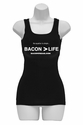 Bacon is Greater than Life - Women's Tank Top