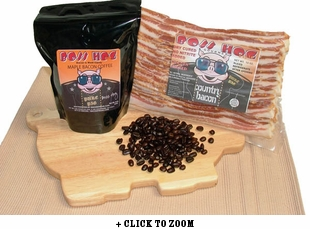 Bacon Is Meat Candy Bacon and Coffee of the Month Club