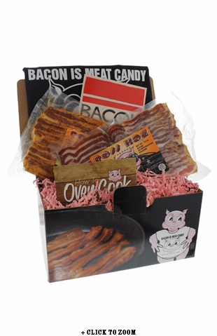 """""""Bacon Is Meat Candy"""" Bacon of the Month Club"""