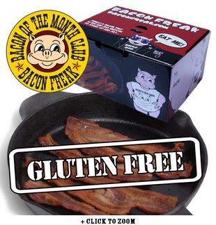 """""""Bacon is Meat Candy"""" Bacon of the Month Club - Gluten Free Bacon"""