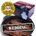 """Bacon is Meat Candy"" Bacon of the Month Club: Wedding Edition"