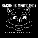 Bacon Is Meat Candy (Original Pig) Bacon Shirts