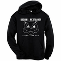 Bacon Is Meat Candy (Original Pig) Hooded Sweatshirt