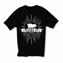Bacon Is Porcine Perfection Youth T-shirt - Black - Blue or Pink
