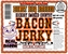 Bacon Jerky - Honey BBQ Flavored - Click to Enlarge