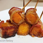 Bacon-Wrapped Butternut Squash Bites