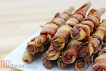 Bacon Wrapped Honey Mustard Pretzel Rods