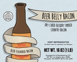 Beer Belly Bacon - Hickory Smoked Beer Flavored Bacon