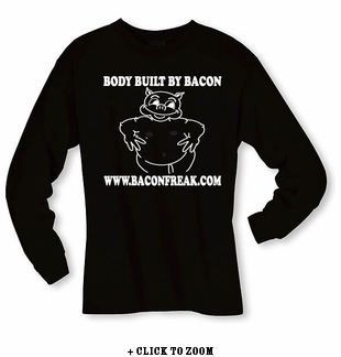 Body Built By Bacon - Long sleeve