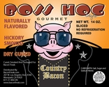 Boss Hog Style Bacon - Hickory Smoked Dry Cured - 2pk