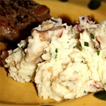 Cajun Bacon Smashed Potatoes Recipe