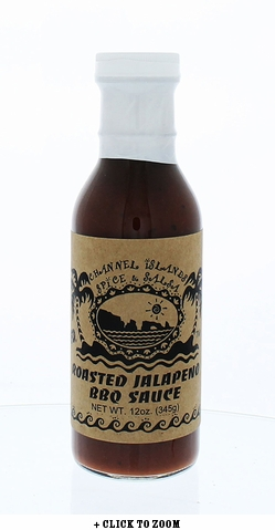 Channel Islands Roasted Jalapeno BBQ Sauce