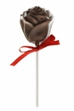 Chocolate Rose Lollipops Flavored With Bacon