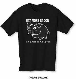 Eat More Bacon Mens T-Shirt