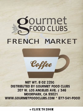 Gourmet Food Clubs French Market Coffee