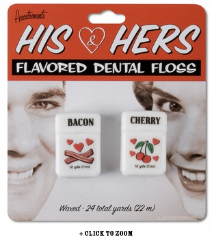 His and Hers Dental Floss